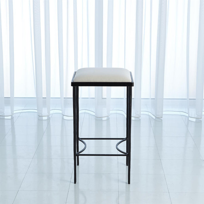Global Views Hammered Counter Stool