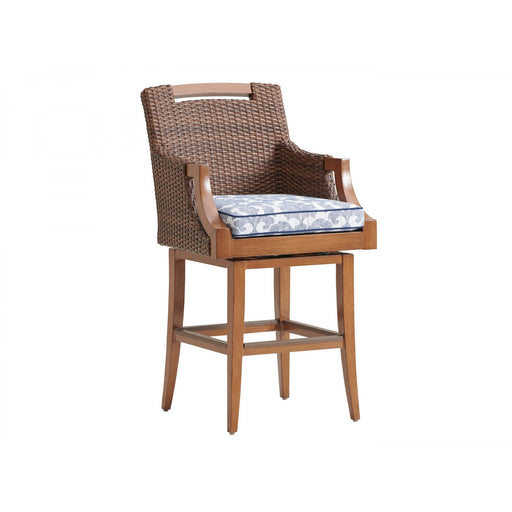 Tommy Bahama Outdoor Harbor Isle Swivel Bar Stool