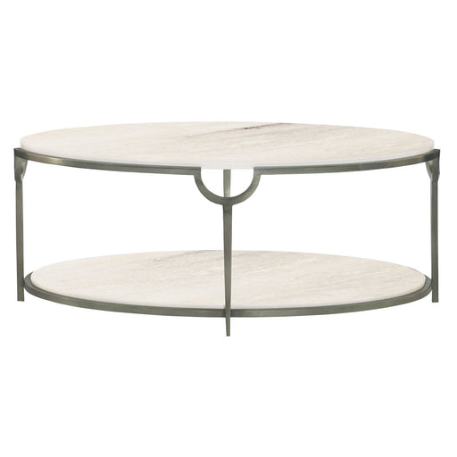 Bernhardt Morello Oval Metal Cocktail Table