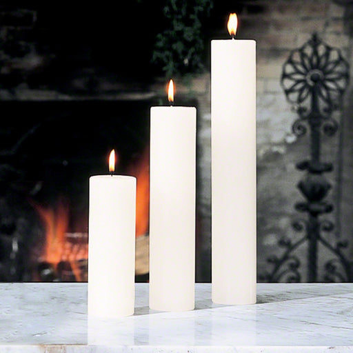 Global Views Pillar Candle Unscented
