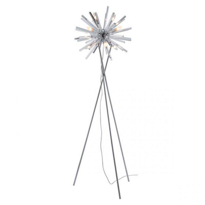 Zuo Savoy Floor Lamp Chrome