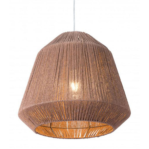 Zuo Impala Ceiling Lamp Brown