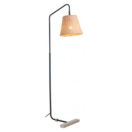 Zuo Malone Floor Lamp Natural