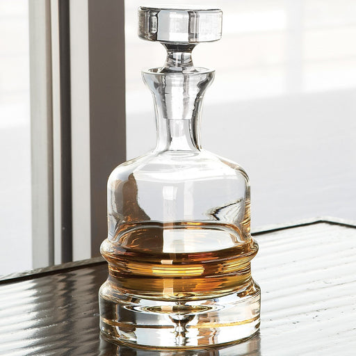 Global Views Traditional Decanter-Clear