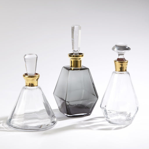 Global Views Gold Decanter