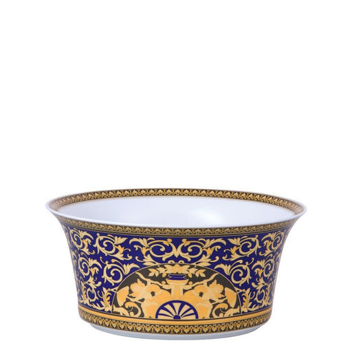 Versace Medusa Blue - Vegetable Bowl 9 3/4""