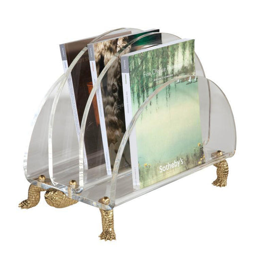 Maitland Smith Tortoise Magazine Rack