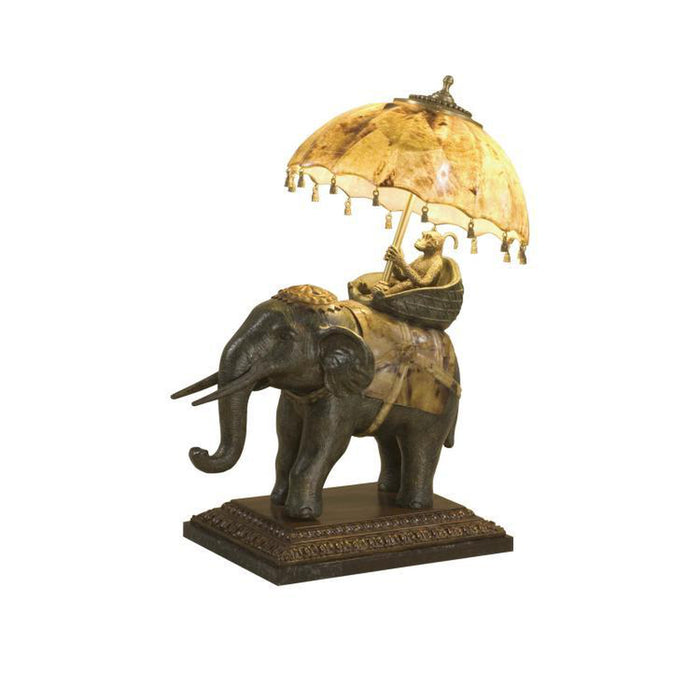 Maitland Smith Elephant Ride Table Lamp