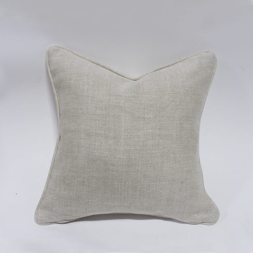"Palecek 18"" Square Down Pillow With Welt"