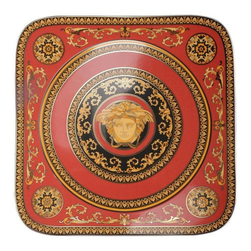 Versace Medusa Red - Service Plate 13""