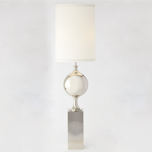 Global Views Big Pill Lamp Nickel