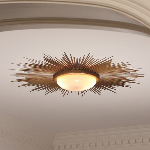 Global Views Sunburst Light Fixture