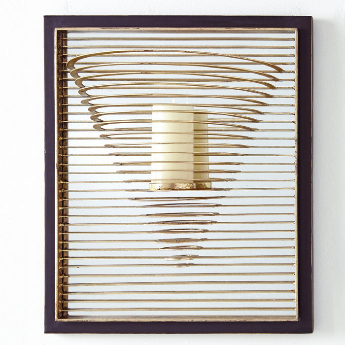 Global Views Pyramid Candle Sconce
