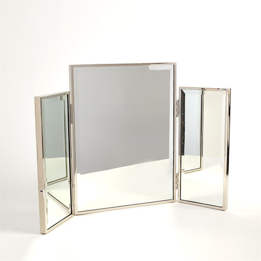 Global Views Tri Fold Vanity Mirror