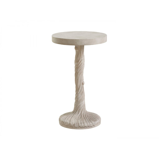 Barclay Butera Malibu Saddle Peak Round Accent Table