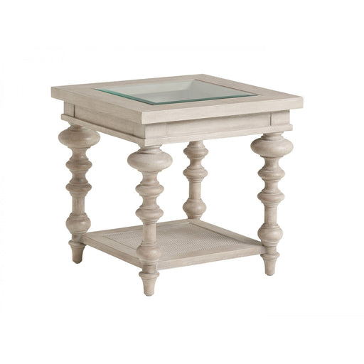 Barclay Butera Malibu Castlerock End Table