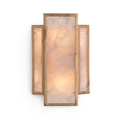 John Richard Calcite Panel Two-Light Wall Sconce