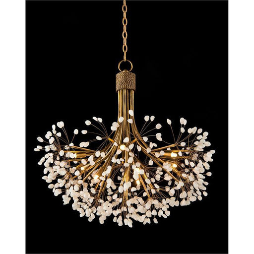 John Richard Quartz Nine-Light Chandelier