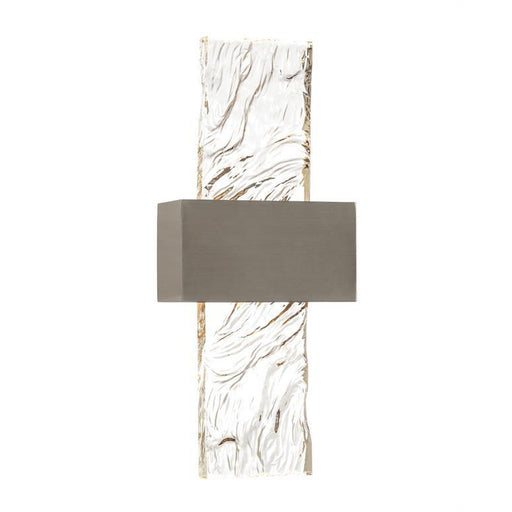 John Richard Glass Panel Single-Light Wall Sconce