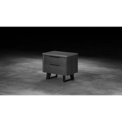 Modloft Amsterdam Nightstand Gray Oak
