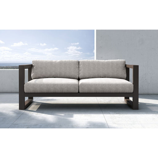 Modloft Parson Sofa in Feather Gray Fabric