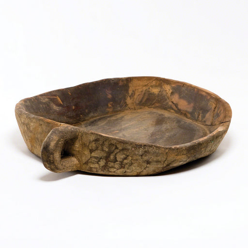 Global Views Wooden Tray Chipatti Bowl-20 to 24