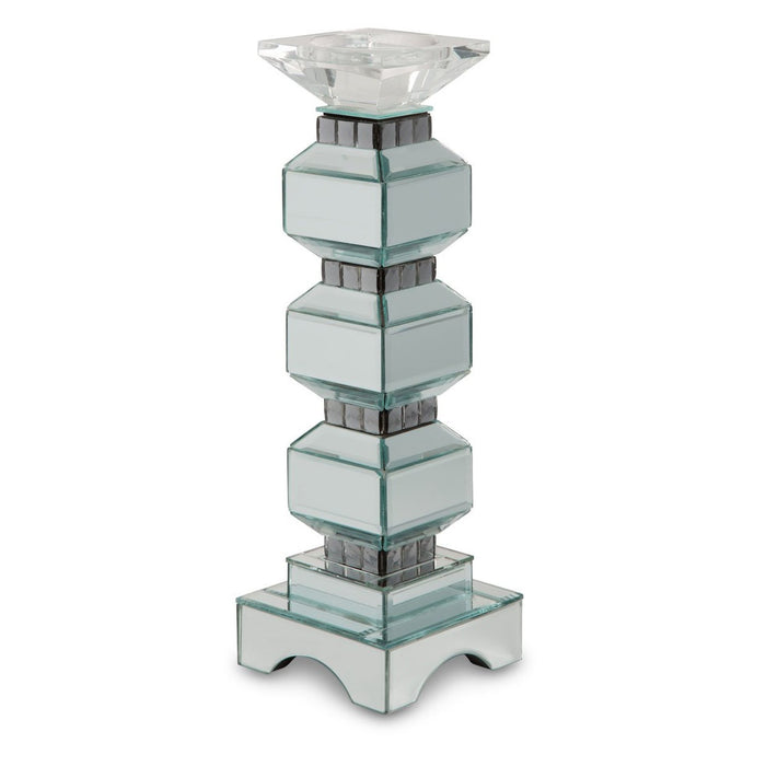 Michael Amini Montreal 3-Tier Mirrored Candle Holder 155
