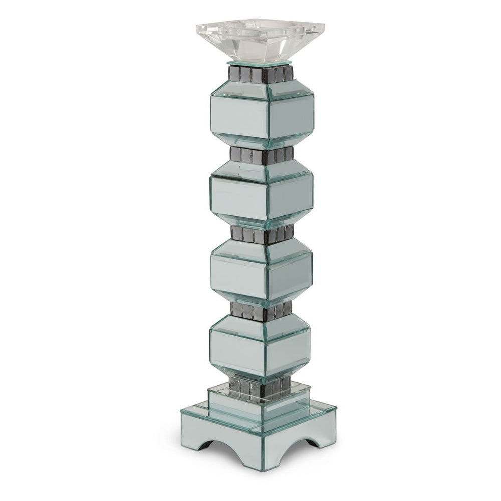 Michael Amini Montreal 4-Tier Mirrored Candle Holder 156