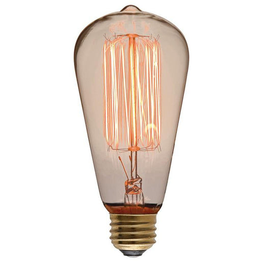 Nuevo ST64 110-130V 40W Clear Glass Light Bulb