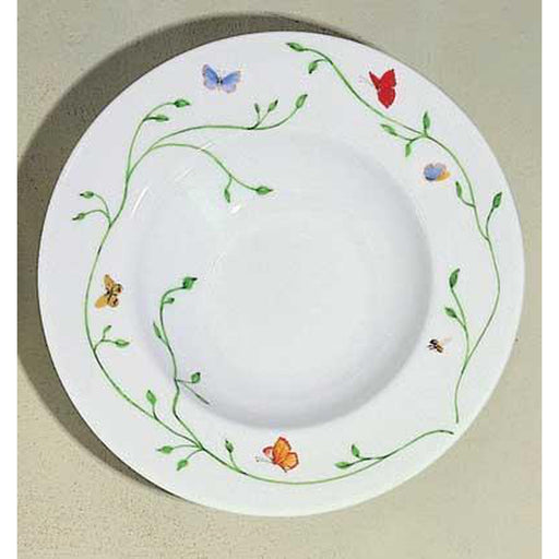 Raynaud Wing Song / Histoire Naturelle Rim Soup Plate