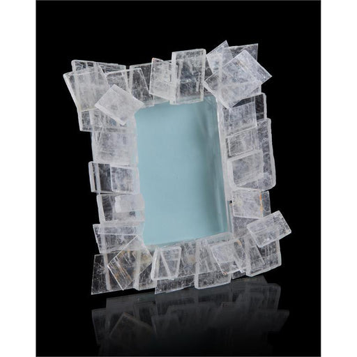 John Richard Windowpane Selenite Photo Frame