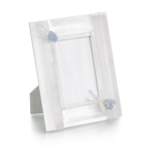 John Richard Selenite and Celestite Photo Frame