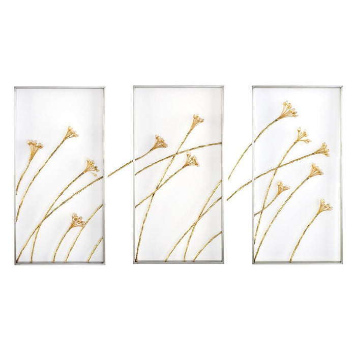 John Richard Set of Three Windswept Triptych Wall Panels