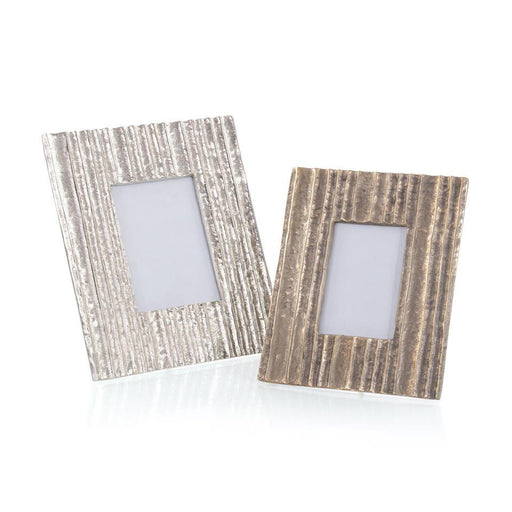 John Richard Set of Two Organic Striations Picture Frames