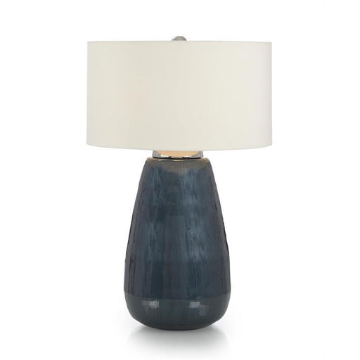 John Richard Deep Cerulean Blue Table Lamp