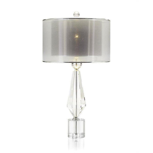 John Richard Sophisticated Crystal Table Lamp
