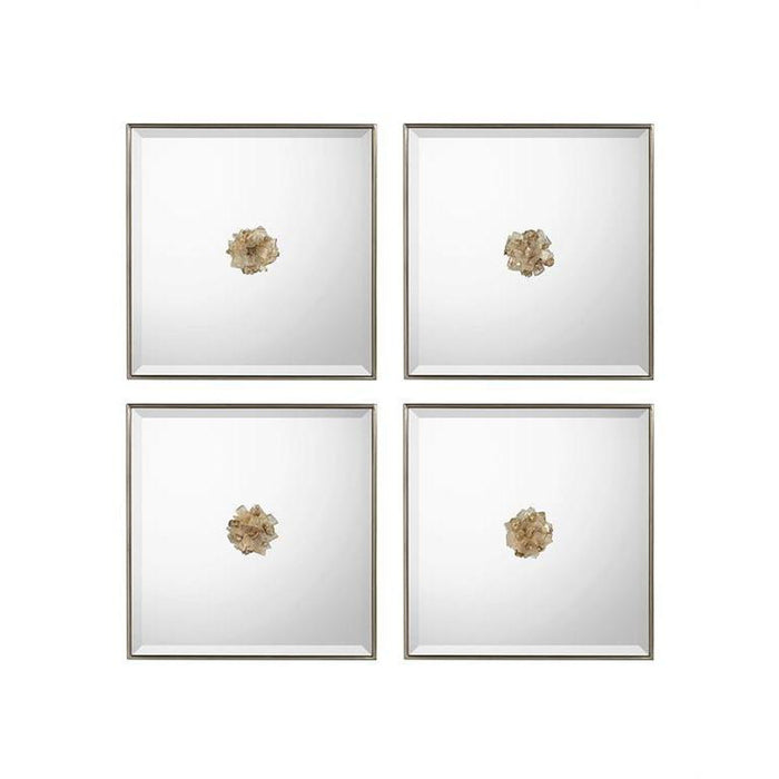 John Richard Set of Four Constellation Mirrors