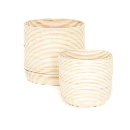 Four Hands Feye Natural Baskets (Set Of 2)