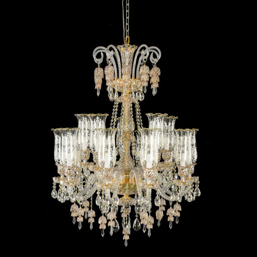 Michael Amini Lighting Garnier 15 Light Chandelier