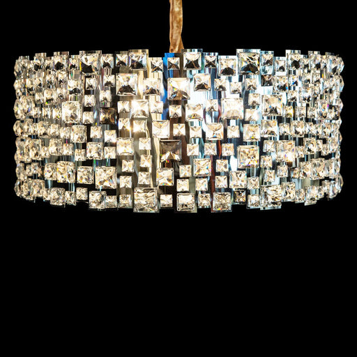 Michael Amini Lighting Facets 9 Light Chandelier