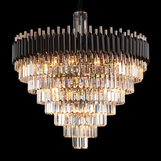Michael Amini Lighting Symphony Round 37 Light Chandelier