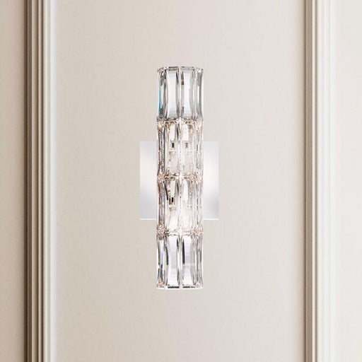 Schonbek SVR405 Verve 3 Light Stainless Steel Wall Sconce