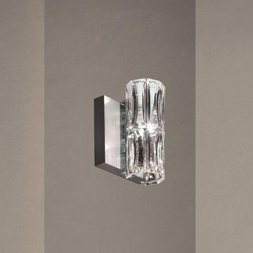 Schonbek SVR605 Verve 1 Light Stainless Steel Wall Sconce