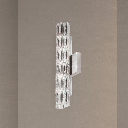 Schonbek SVR615 Verve 5 Light Stainless Steel Wall Sconce