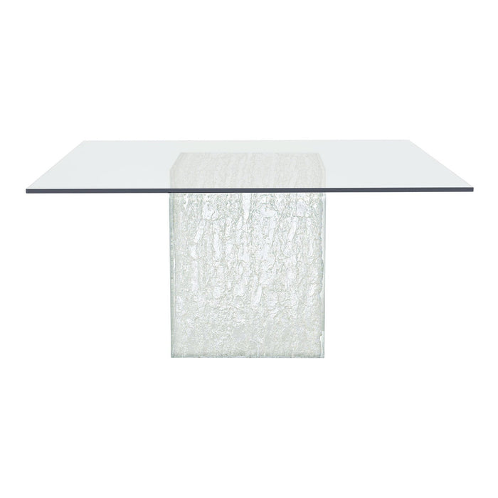 Bernhardt Interiors Arctic Square Dining Table