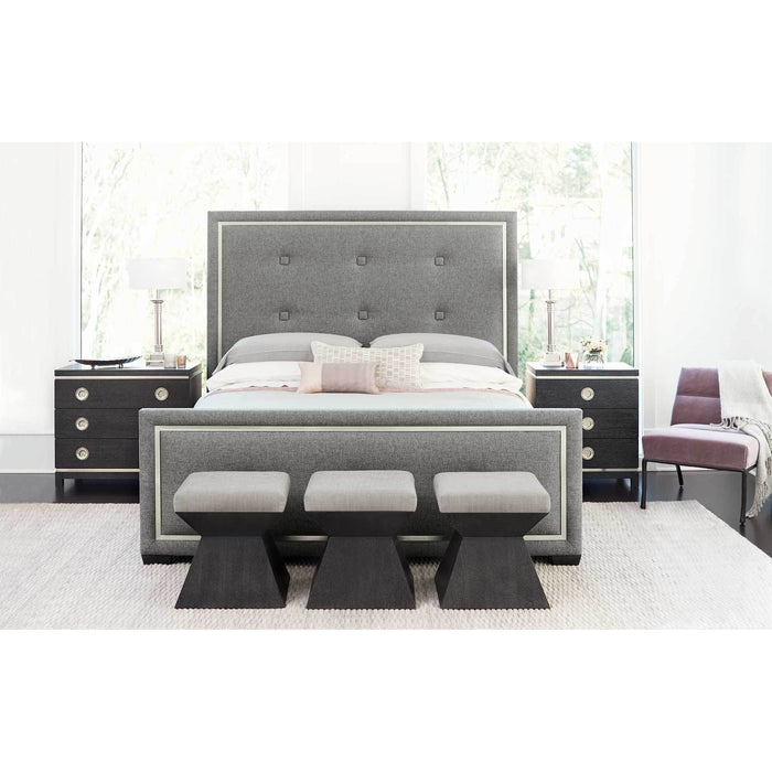 Bernhardt Decorage Upholstered Panel Bed