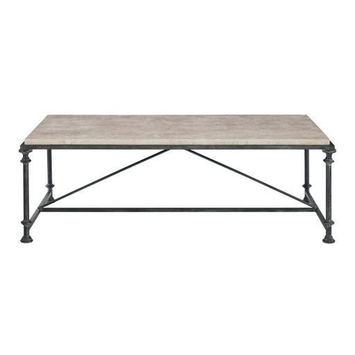 Bernhardt Galesbury Rectangular Metal Cocktail Table