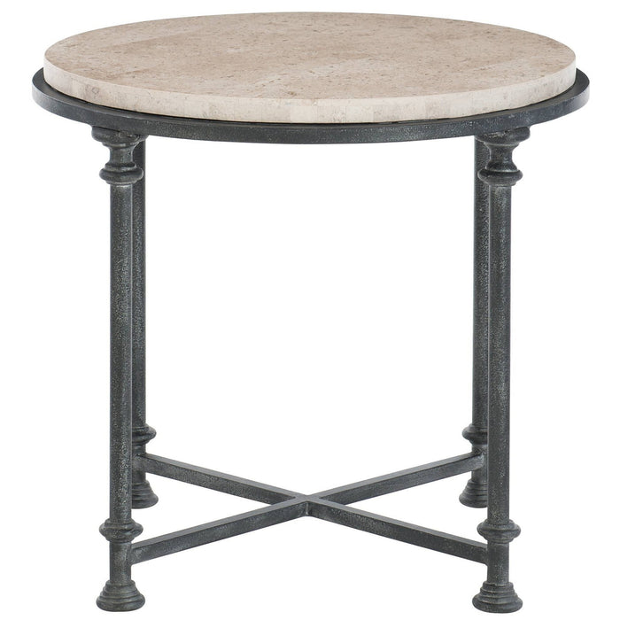 Bernhardt Galesbury Round Metal End Table