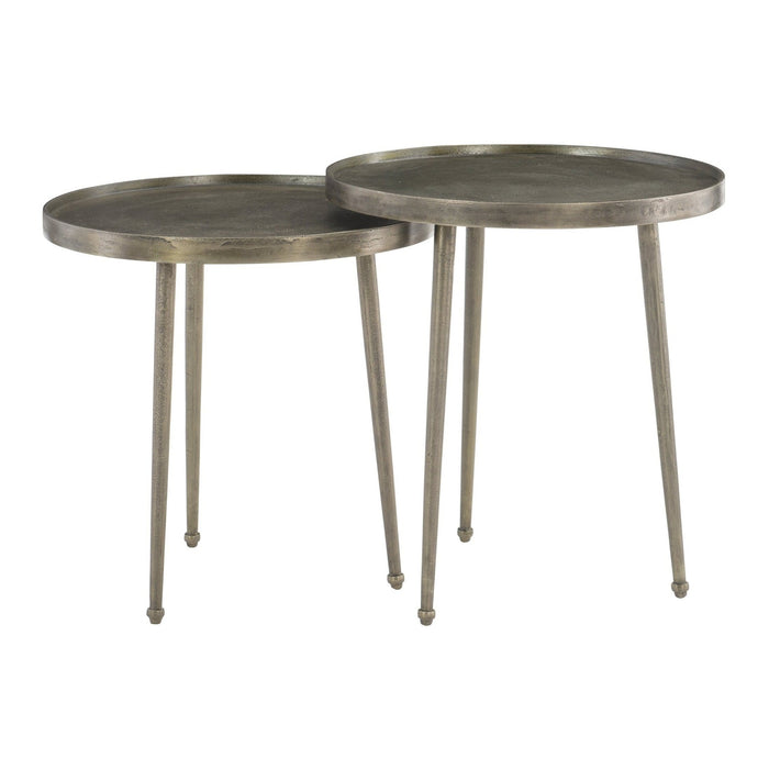 Bernhardt Interiors Leavitt Bunching End Tables