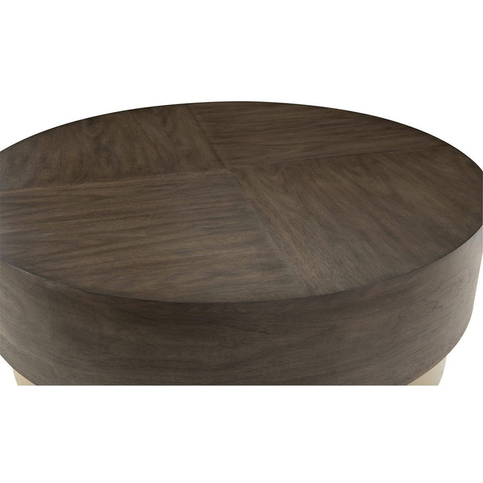 Bernhardt Profile Round Cocktail Table